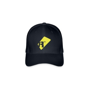 Flexfit Baseball Cap - Yellow Renoise Tag - Flexfit Baseball Cap