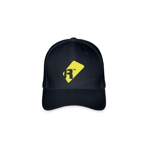 Flexfit Baseball Cap - Yellow Renoise Tag - Flexfit Baseball Cap