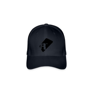 Flexfit Baseball Cap - Black Renoise Tag - Flexfit Baseball Cap
