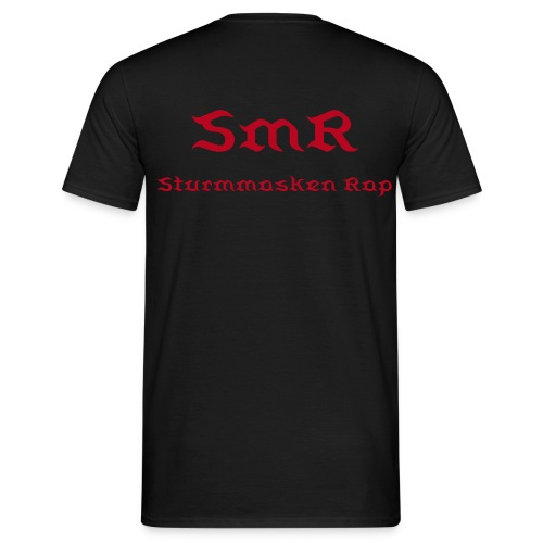 SmR Wear - Shirt/Classic/S1/Back Bloody One  - Männer T-Shirt