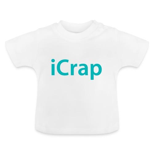 iCrap. Stoer shirt voor baby's en kinderen  - Baby T-shirt