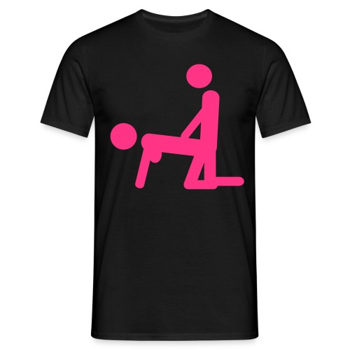 Men's Neon T-shirt Porn Star - Men's T-Shirt