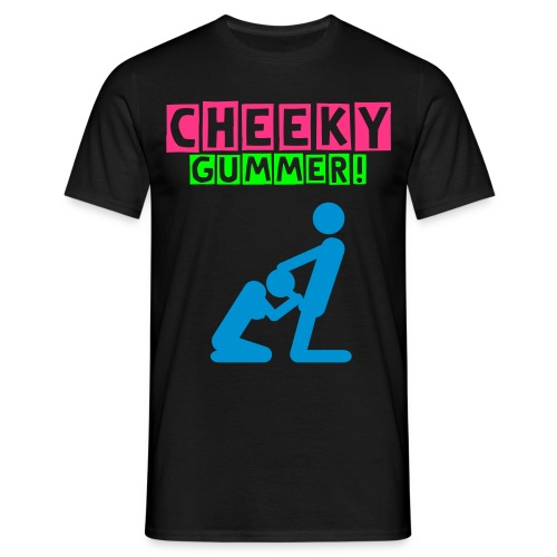 Men's Neon T-shirt Cheeky Gummer - Men's T-Shirt