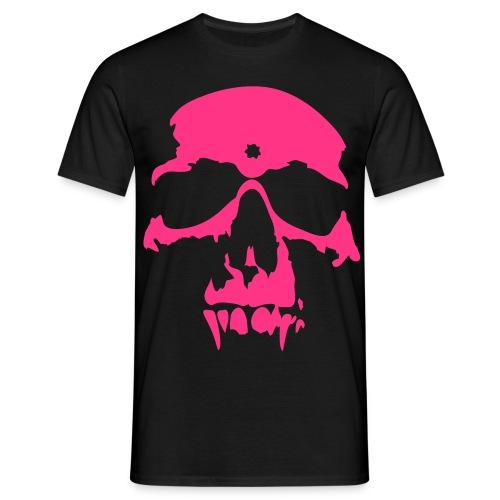 Men's Neon T-shirt Vampire Skull - Men's T-Shirt