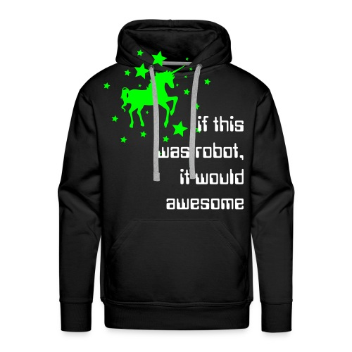 My Little Unicorn. - Men's Premium Hoodie