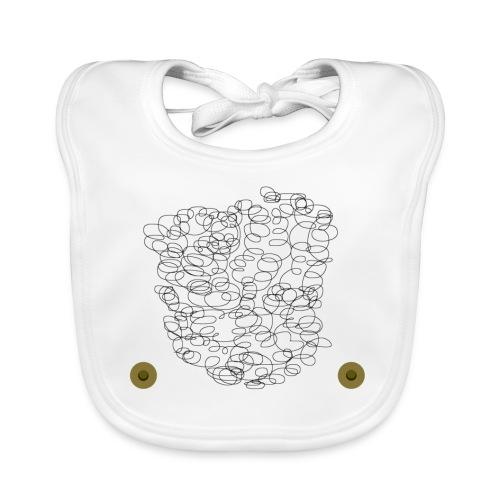 Brusthaar Babylätzchen - Baby Bio-Lätzchen