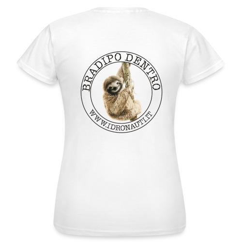 Bradipo dentro Brand (schiena) - Maglietta da donna