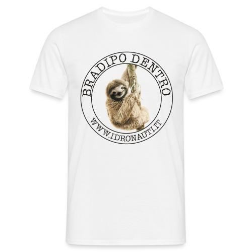 Bradipo dentro Brand - Maglietta da uomo