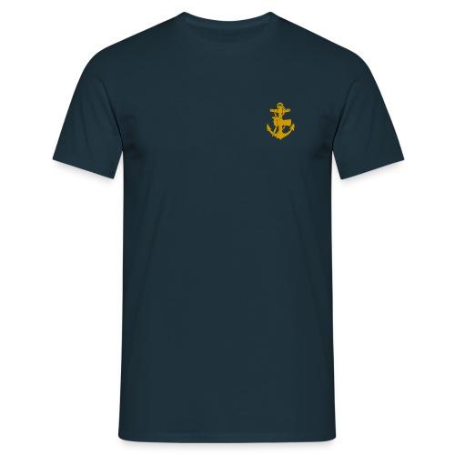Dogs3blå  - T-shirt herr