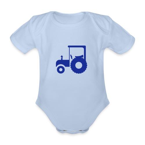 baby trekker - Baby bio-rompertje met korte mouwen