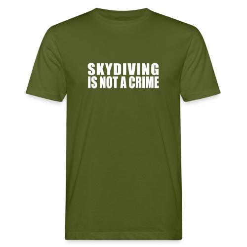 Skydiving - T-shirt Men Bio - Men's Organic T-shirt