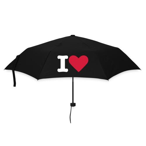 I Love Regenschirm - Regenschirm (klein)