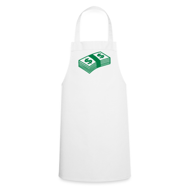 White Money dollars B&W  Aprons