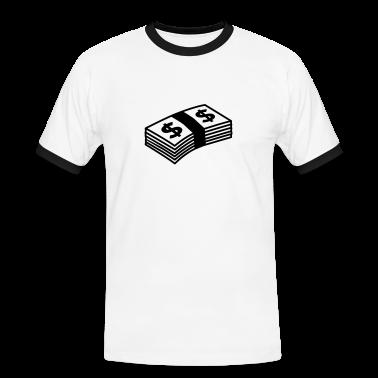 Bianco/nero Money dollars B&W T-shirt