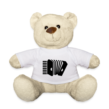 White Akkordeon / Accordion (1c) Teddies
