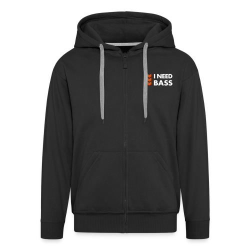 Kapuzenjacke | I Need Bass - Men's Premium Hooded Jacket
