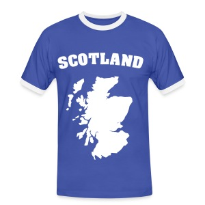 Men's Scottish T-Shirt Scottish Isles Tee - Men's Ringer Shirt
