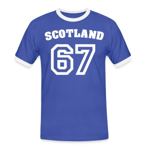 Men's Scottish T-Shirt Scotland 67 - Men's Ringer Shirt