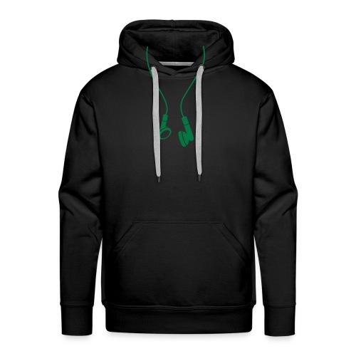 sweat homme (faux ecouteur) - Sweat-shirt à capuche Premium pour hommes