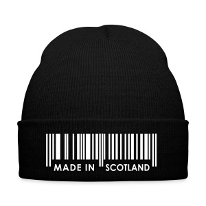 Black Scotland Hat Made In Scotland - Winter Hat