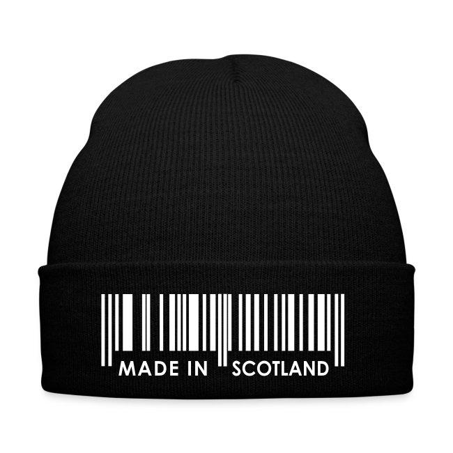 Black Scotland Hat