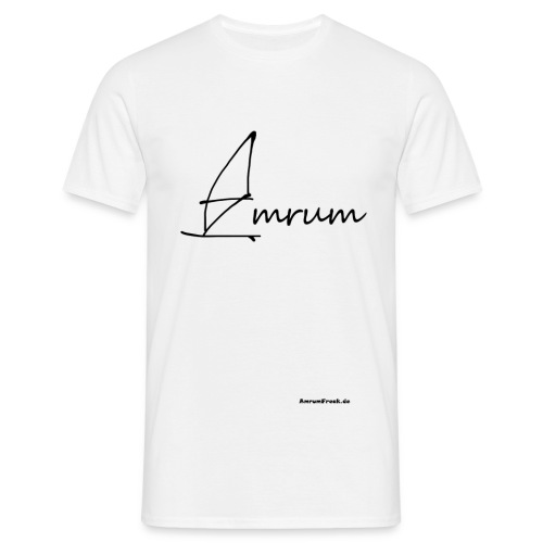 Amrum Windsurfing - Männer T-Shirt