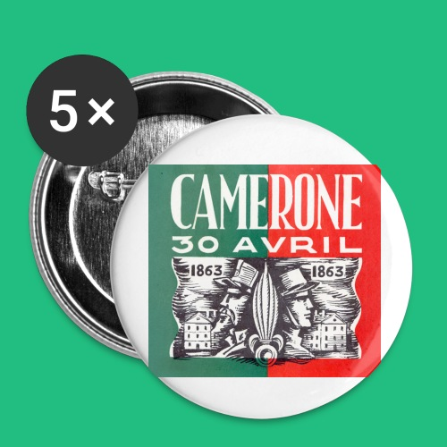 CAMERONE 30 - Badge petit 25 mm