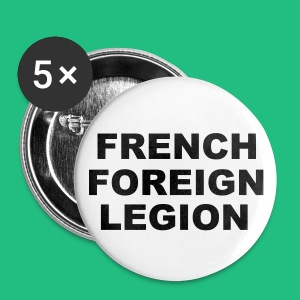 Badge  FRENCH FOREIGN LEGION txt - Badge petit 25 mm
