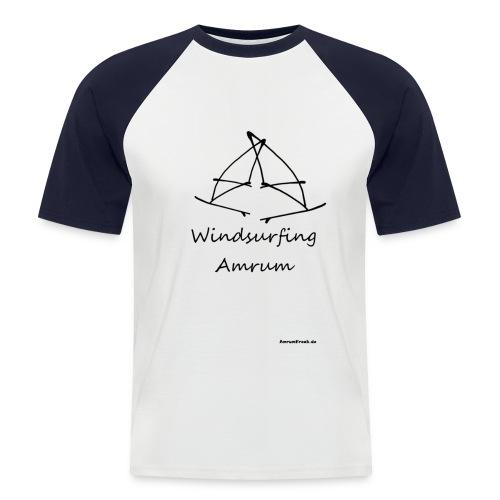 Windsurfing Amrum Kontrast Shirt - Männer Baseball-T-Shirt