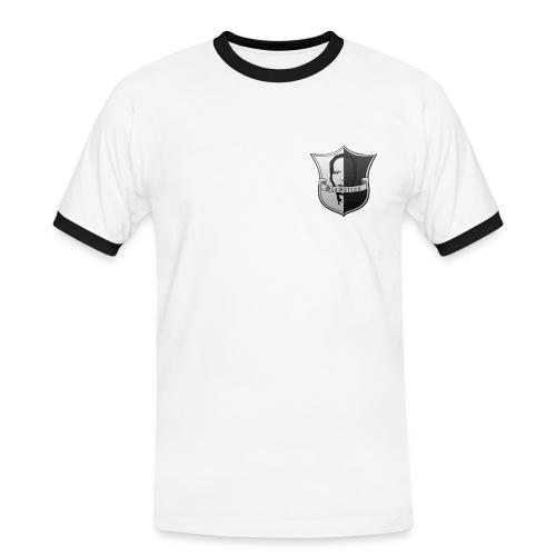 Stamptras Logo - Männer Kontrast-T-Shirt