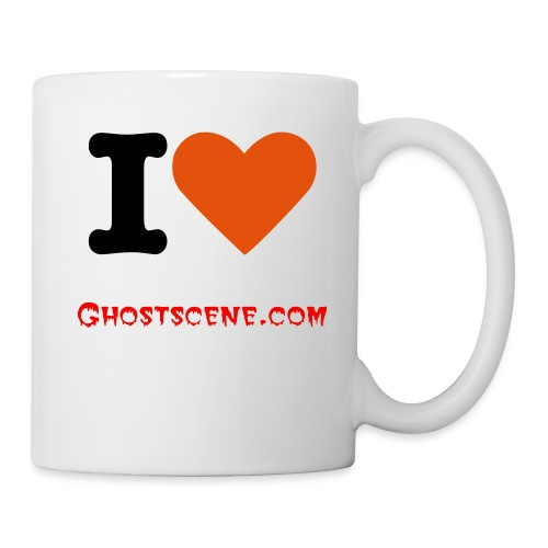 Ghostscene.com Tasse i love Ghostscene.com - Tasse