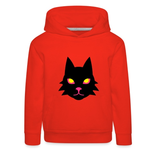 Crazy Cat Kapuzenpullover für Kids - Kinder Premium Hoodie