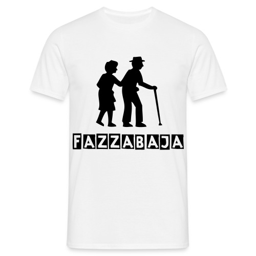 Fazzabaja old man boner t-shirt MENS - T-skjorte for menn