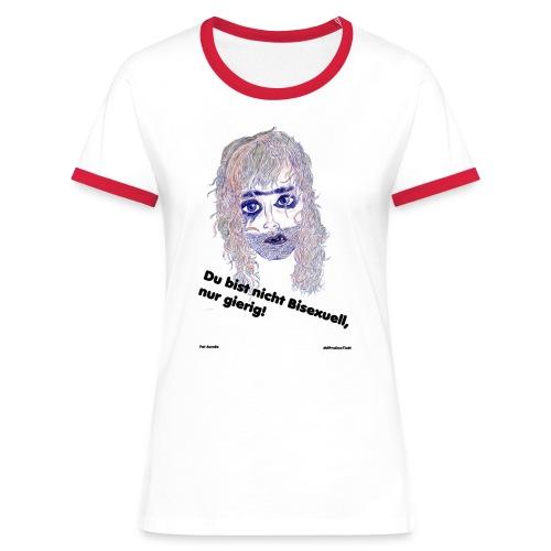 Bisexuell-frauen - Frauen Kontrast-T-Shirt