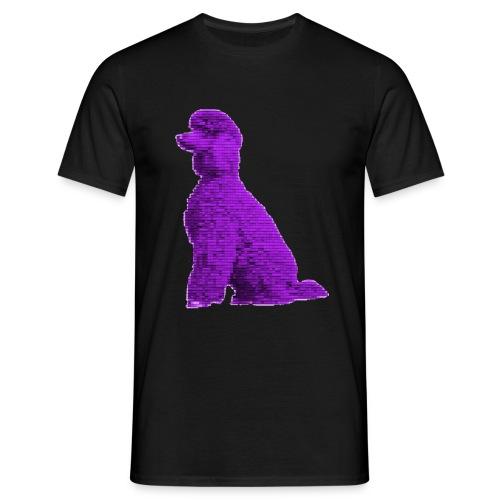 Lila Pudel - Männer T-Shirt