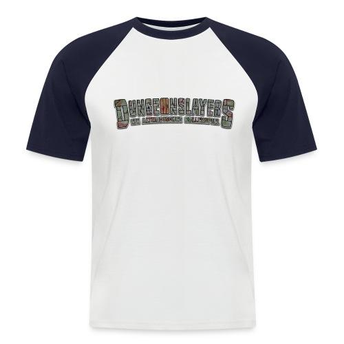 Modell Schulterpanzer - Männer Baseball-T-Shirt