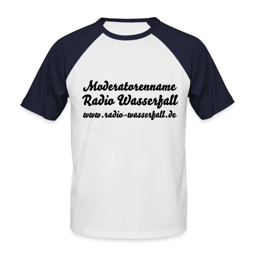 Modiname - Männer Baseball-T-Shirt