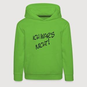 ich war's nicht! | Kinder-Kapuzensweatshirt - Kinder Premium Hoodie