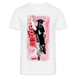 Underdog - white shirt - Männer T-Shirt