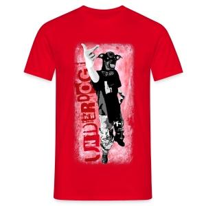 Underdog - red shirt - Männer T-Shirt