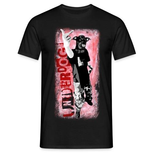 Underdog - black shirt - Männer T-Shirt