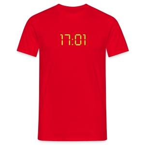 Redshirts sterben um 17:01 - Männer T-Shirt