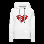 Pullover & Hoodies ~ Frauen Premium Kapuzenpullover ~ Amrum Herz Hoodie Frauen