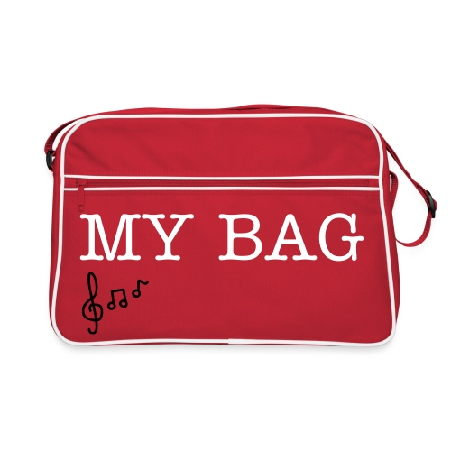 my bag range music notes  - Retro Bag
