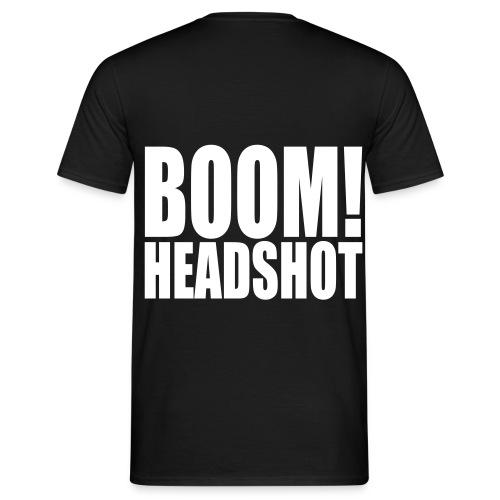 Boom! Headshot! - Männer T-Shirt