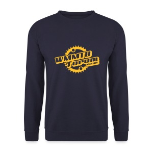 WMMTB Forum 'Logo'  sweatshirt (yellow gold print) - Men's Sweatshirt