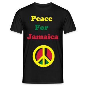 Peace for Jamaica - Men's T-Shirt