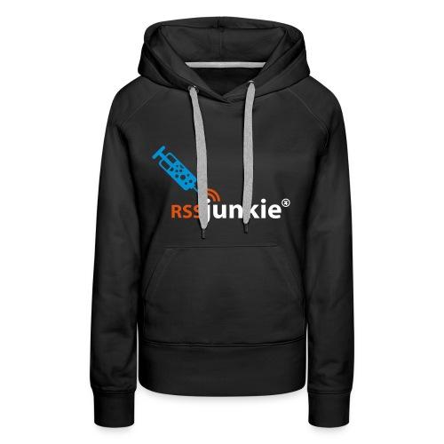Frauen Kapuzenpullover RSS Junkie - Frauen Premium Hoodie