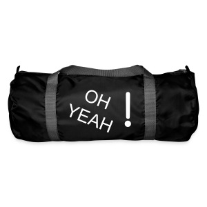 OH YEAH Bag BLACK - Duffel Bag