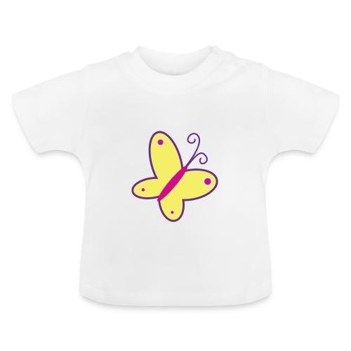 Vrolijke vlinder - kinder- en babyshirt - Baby T-shirt